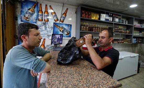 Lệnh cấm đồ uống có cồn gây căng thẳng tại Iraq
