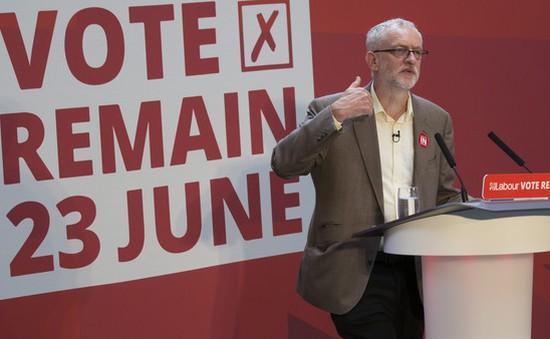 Anh: Lãnh đạo đảng Lao động Jeremy Corbyn bị bỏ phiếu bất tín nhiệm