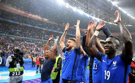 """EURO 2016: Mưa bàn thắng ở Paris, Pháp giải mã """"hiện tượng"""" Iceland"""