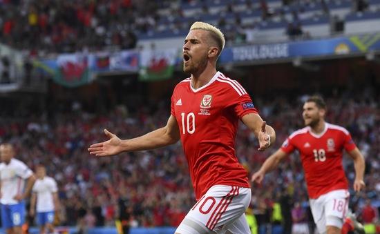 VIDEO EURO 2016: Ramsey ghi bàn tinh tế vào lưới ĐT Nga