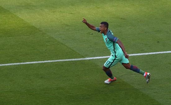 VIDEO EURO 2016: Ronaldo kiến tạo, Nani dứt điểm gỡ hoà cho Bồ Đào Nha