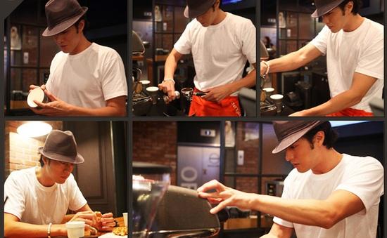 So Ji Sub ghi điểm với tài kinh doanh cà phê