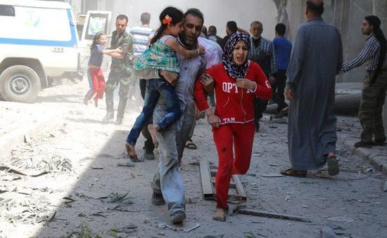 Syria: Phe đối lập tấn công Aleppo, 8 người thiệt mạng