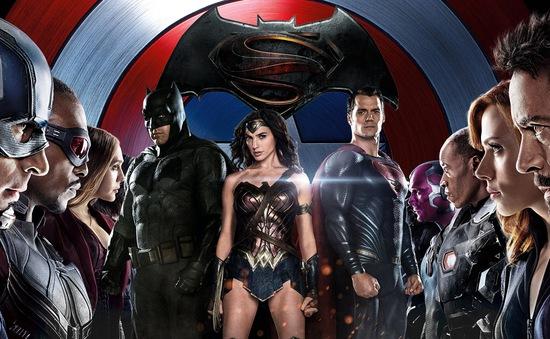 Dòng phim về siêu anh hùng thống trị danh sách tìm kiếm năm 2016