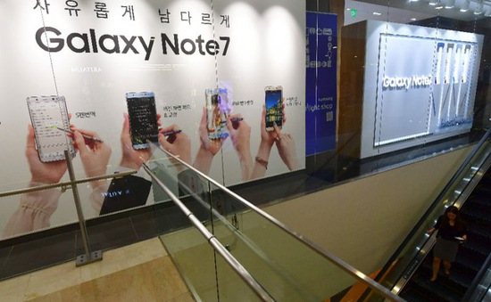 Chính phủ Hàn Quốc vào cuộc điều tra nguyên nhân Note7 phát nổ