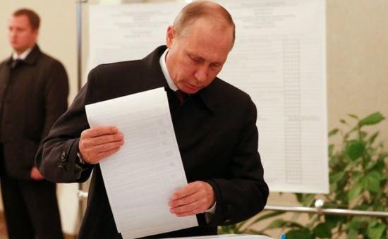 Nga bắt giữ nghi phạm đe dọa đánh bom điểm bỏ phiếu