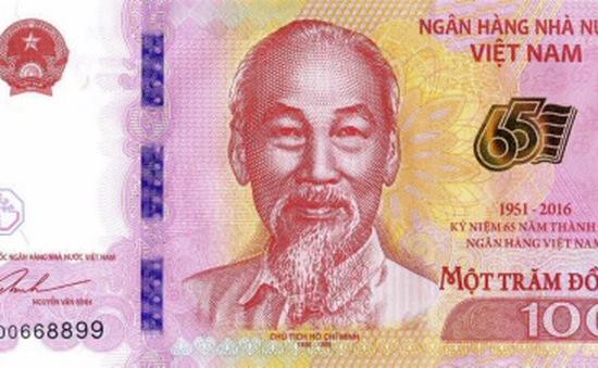 NHNN kéo dài thời gian bán tờ tiền lưu niệm 100 đồng