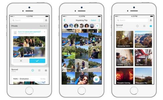 Ngày 7/7, Facebook sẽ xóa ảnh đồng bộ từ smartphone