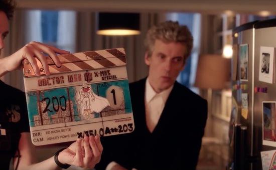 Phim truyền hình Doctor Who xuất hiện hình ảnh hậu trường đặc biệt