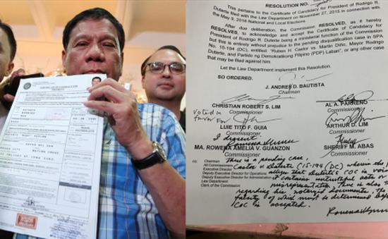 Người dân Philippines tin tưởng kết quả bầu cử Tổng thống