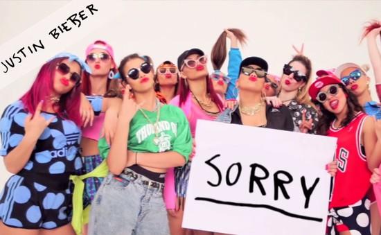 Nghe ca khúc Sorry của Justin Bieber với 20 phong cách