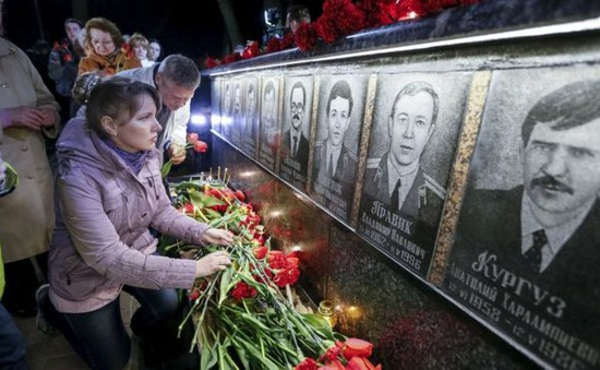 Ukraine tưởng niệm 30 năm thảm họa hạt nhân Chernobyl