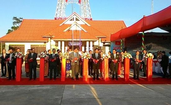 Khánh thành Đài Phát thanh - Truyền hình tại Oudomxay, Lào