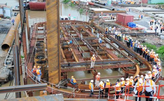 Dự án chống ngập ngăn triều TP.HCM sẽ hoàn thành sau 2 năm