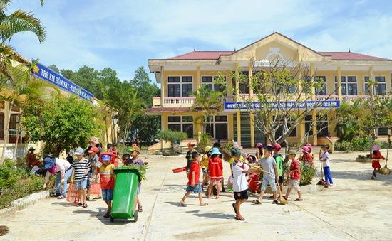 Quảng Trị: Miễn giảm học phí cho học sinh vùng biển