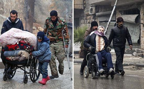 Hoãn sơ tán dân thường khỏi Aleppo, Syria