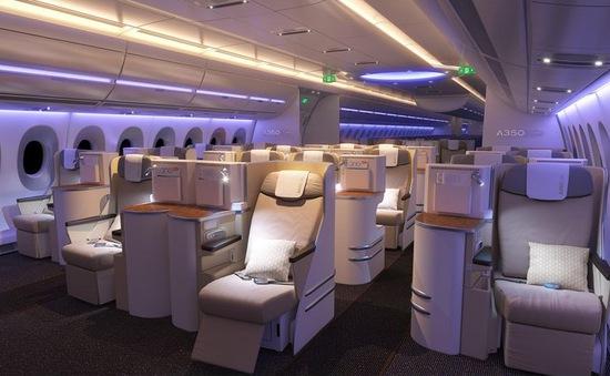 Airbus thiết kế cabin máy bay rộng hơn