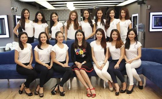 Hoa khôi áo dài Việt Nam: Hoa hậu Hà Kiều Anh truyền cảm hứng cho các thí sinh