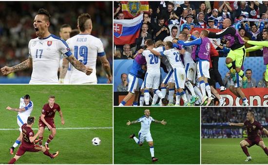VIDEO Nga 1-2 Slovakia: Người hùng Hamsik