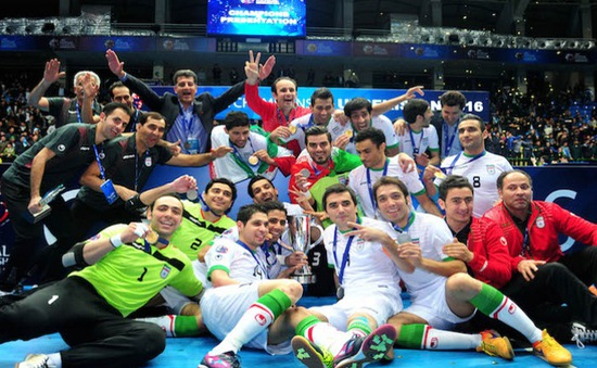Ngược dòng hạ chủ nhà, ĐT Iran lần thứ 11 vô địch futsal châu Á