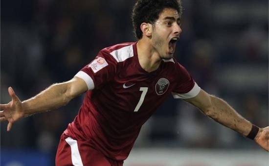 VCK U23 châu Á: Qatar lên ngôi đầu, Trung Quốc thua đậm trận thứ 2