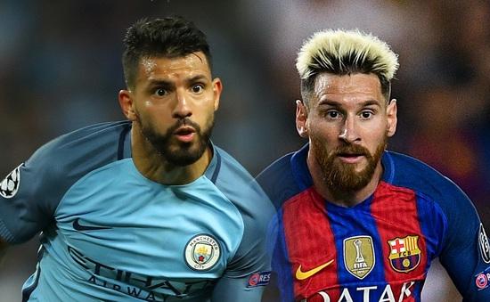 Messi bênh vực Aguero, chê bai Guardiola trước đại chiến