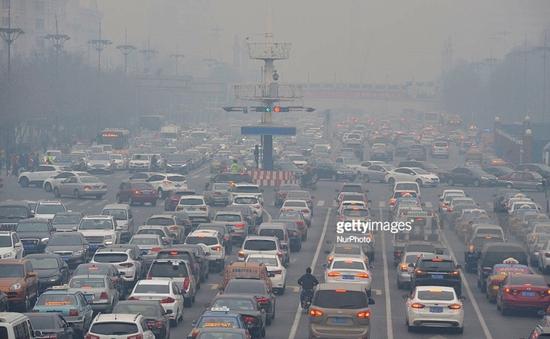 Trung Quốc: Cảnh báo màu cam về ô nhiễm không khí tại Bắc Kinh