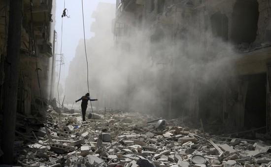 Nga tiếp tục không kích ở Syria