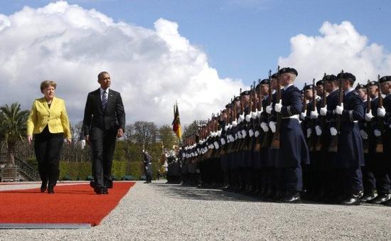 Tổng thống Mỹ thăm Đức