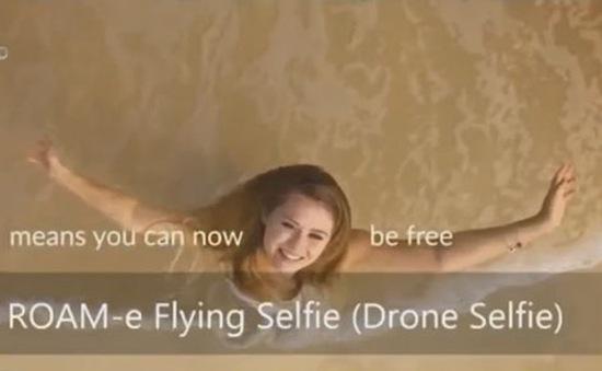 ROAM-e – Thiết bị chụp ảnh selfie biết bay