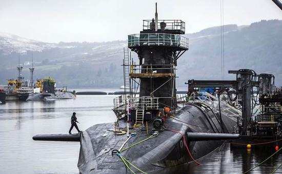 Các nhà lập pháp Anh ủng hộ phục hồi hệ thống vũ khí hạt nhân