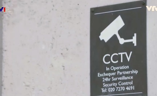 Anh: Hệ thống CCTV dày đặc hỗ trợ kiểm soát an ninh