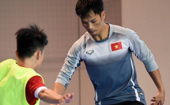 Đội tuyển futsal Việt Nam tập buổi đầu tại Nhật Bản