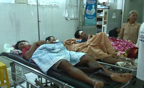 Sập lò gạch tại Đồng Tháp, 6 người nhập viện cấp cứu