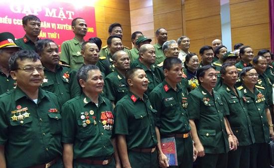 Cựu chiến binh mặt trận Vị Xuyên hội ngộ tại Hà Nội