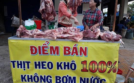Xây dựng điểm bán thịt sạch tại Bạc Liêu