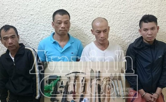 Bắt giữ 4 nghi can vụ nổ súng đặc biệt nghiêm trọng tại Hà Nội