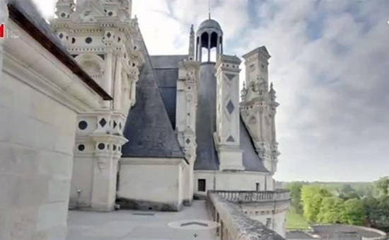 Thăm thung lũng Loire (Pháp) qua bằng hình ảnh 3D