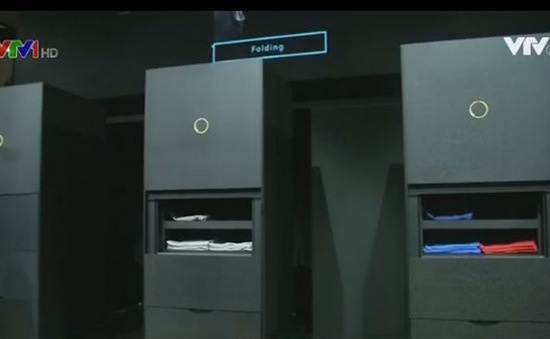 Laundroid - Máy gấp quần áo tự động đầu tiên trên thế giới