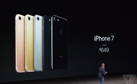 iPhone 7 lên kệ ngày 16/9 với giá 649 USD