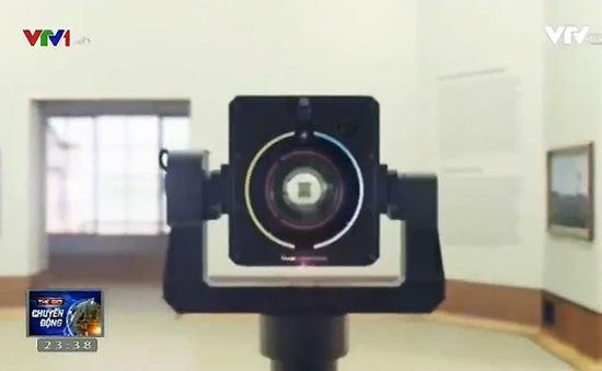 Google Art Camera sẽ số hóa kho tàng hội họa