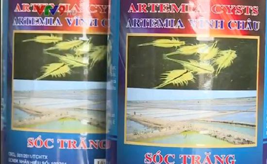 Đưa thuế nhập khẩu trứng Artemia về 0%