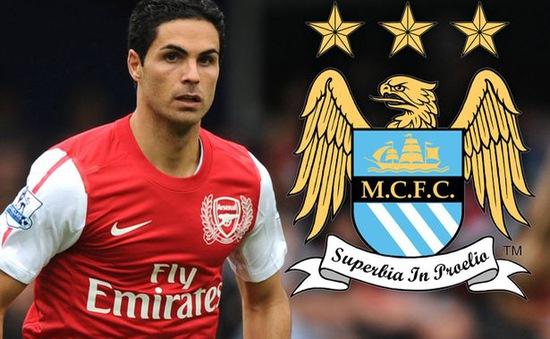 Mikel Arteta gia nhập… Manchester City