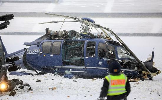 Đức: Rơi máy bay cảnh sát làm hai người thiệt mạng