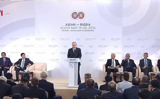 Hội nghị cấp cao ASEAN - Nga thông qua Tuyên bố Sochi