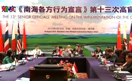 Hội nghị ASEAN - Trung Quốc về DOC đạt kết quả tích cực