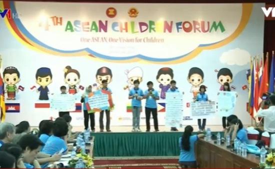 Bế mạc Diễn đàn trẻ em ASEAN lần thứ 4