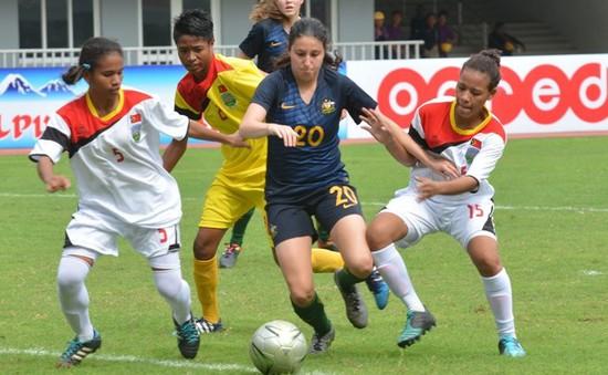 ĐT nữ Timor Leste thủng lưới 37 bàn chỉ sau 2 trận đầu tiên