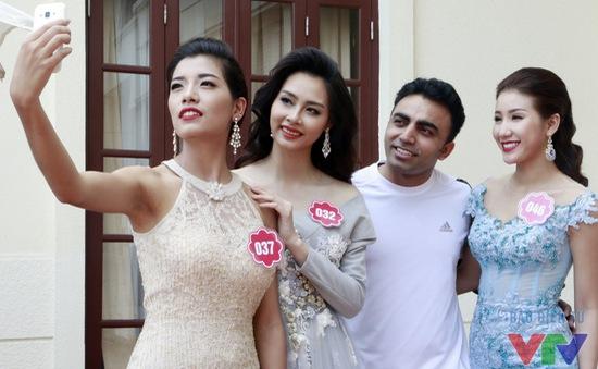Thí sinh Hoa hậu Biển Việt Nam 2016 tập Yoga thêm tràn đầy năng lượng