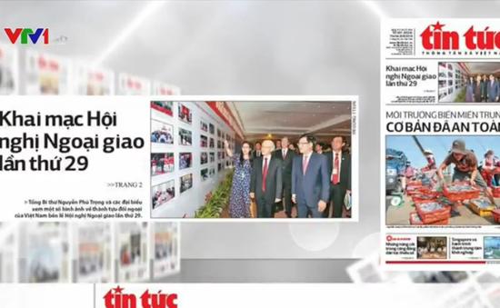 Hội nghị ngoại giao lần thứ 29 - Tâm điểm báo chí trong nước